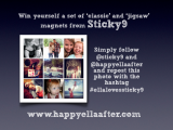 New giveaway with Sticky9