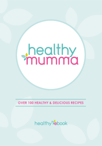 Healthy Ebook Front Cover