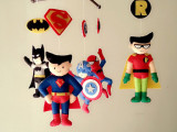 Friday Find: Superhero Felt Mobile