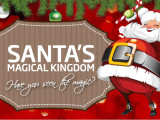 WIN a Family Pass to Santa's Magical Kingdom!