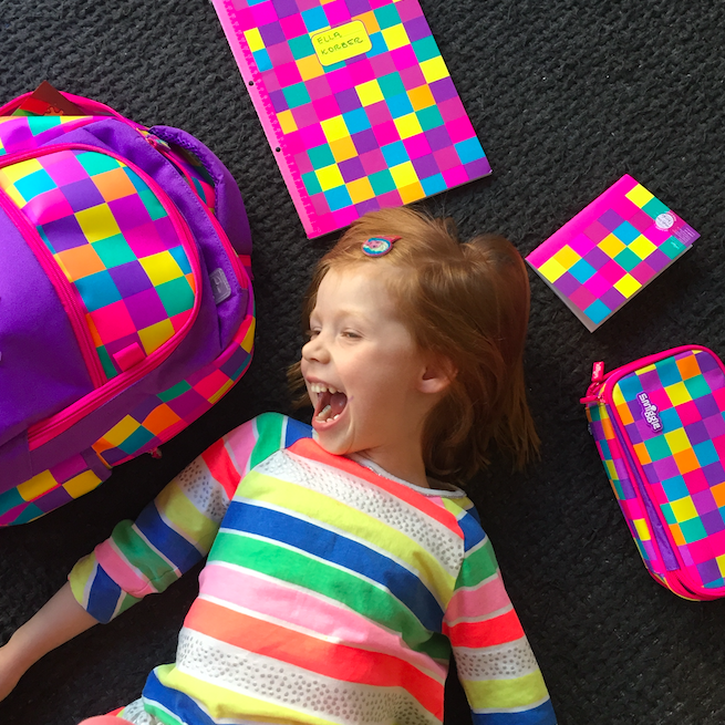 Smiggle Happy Ella After Back Pack Christmas