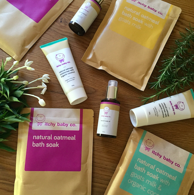 Review & Giveaway: Itchy Baby Co - Happy Ella After
